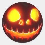 Halloween 4,1 - Ningún texto Etiquetas Redondas