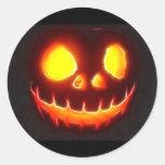 Halloween 4,1 - Ningún texto Pegatinas Redondas