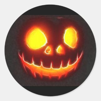 Halloween 4.1 - No Text Classic Round Sticker