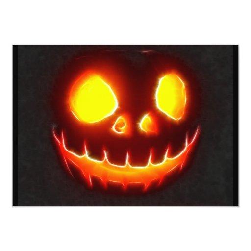 Halloween 4 ninguna invitación del texto invitación 12,7 x 17,8 cm
