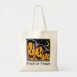 Halloween 5 -- Bolso del truco o de la invitación Bolsa Tela Barata