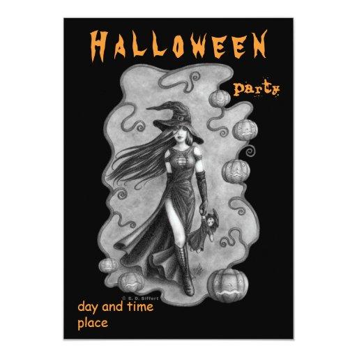 "Halloween 5"" X 7"" Invitation Card"