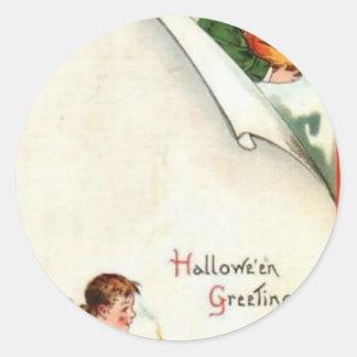 HALLOWEEN-60 CLASSIC ROUND STICKER