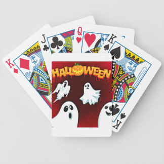 halloween-994-ghost bicycle playing cards