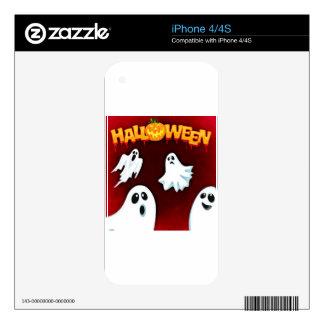 halloween-994-ghost iPhone 4S skins