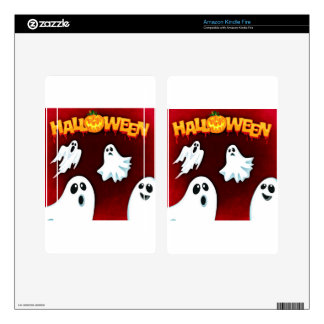 halloween-994-ghost skin for kindle fire