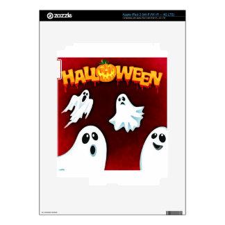 halloween-994-ghost skins for iPad 3