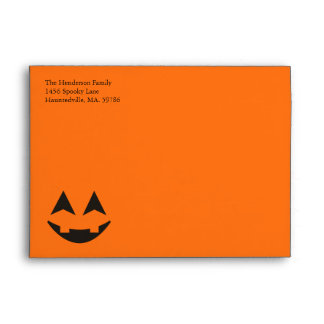 Halloween A7 Custom Envelopes