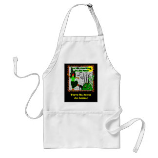 Halloween - A Good Witch? Adult Apron