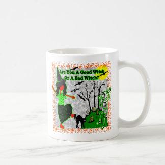 Halloween - A Good Witch? Coffee Mugs