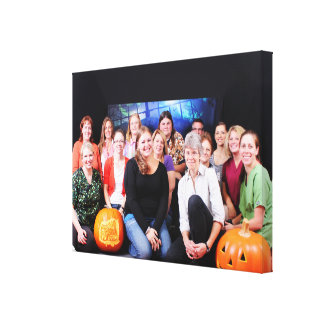 Halloween - Abel Keppy Crew Gallery Wrap Canvas