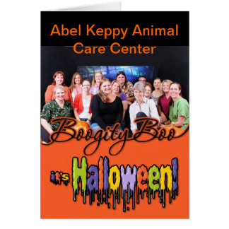 Halloween - Abel Keppy Crew Greeting Card
