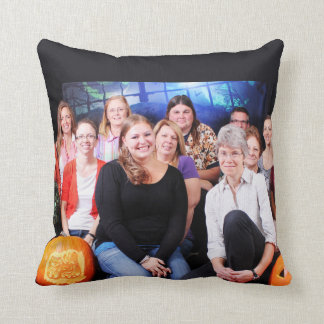 Halloween - Abel Keppy Crew Throw Pillow