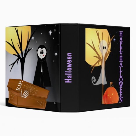 Halloween Album 3 Ring Binder