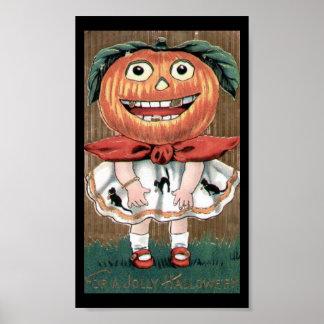 Halloween alegre póster