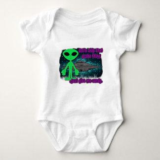 halloween alien baby bodysuit