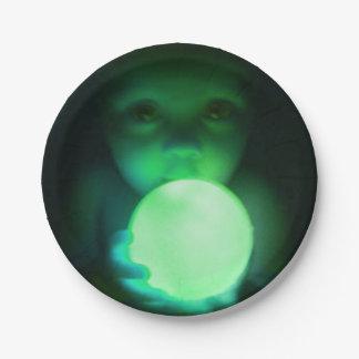 Halloween Alien Baby Plate