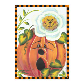 Halloween and Autumn Gifts Card
