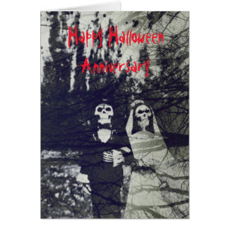 Halloween Anniversary Cards - Invitations, Greeting & Photo Cards ...