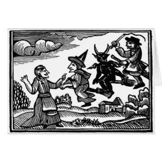 Halloween antics card
