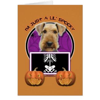 Halloween - apenas un Lil fantasmagórico - Airedal