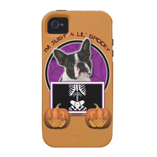 Halloween - apenas un Lil fantasmagórico - Boston  iPhone 4/4S Carcasa