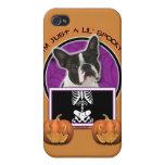 Halloween - apenas un Lil fantasmagórico - Boston  iPhone 4 Funda