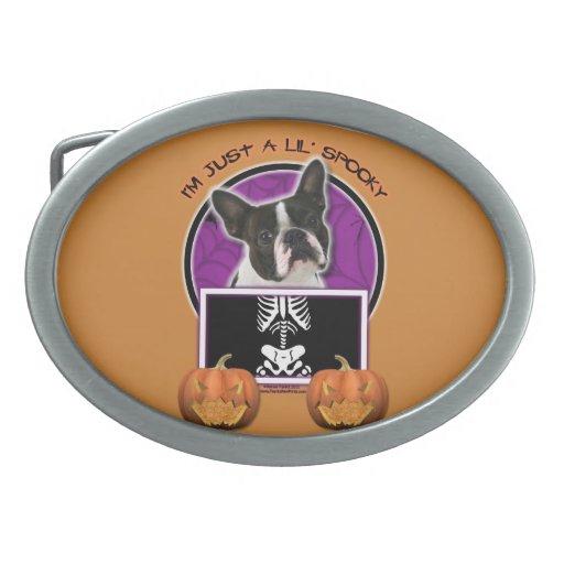 Halloween - apenas un Lil fantasmagórico - Boston  Hebilla Cinturón