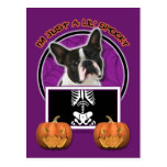 Halloween - apenas un Lil fantasmagórico - Boston  Tarjetas Postales