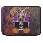 Halloween - apenas un Lil fantasmagórico - canguro Funda Macbook Pro
