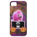 Halloween - apenas un Lil fantasmagórico - caniche iPhone 5 Case-Mate Coberturas