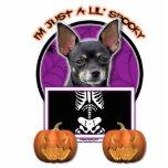 Halloween - apenas un Lil fantasmagórico - chihuah Escultura Fotografica
