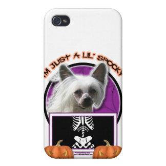 Halloween - apenas un Lil fantasmagórico - chino C iPhone 4 Protector