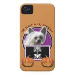 Halloween - apenas un Lil fantasmagórico - Crestie iPhone 4 Protectores