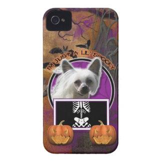 Halloween - apenas un Lil fantasmagórico - Crestie Case-Mate iPhone 4 Cárcasa
