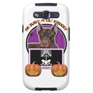 Halloween - apenas un Lil fantasmagórico - Doberma Galaxy S3 Protectores