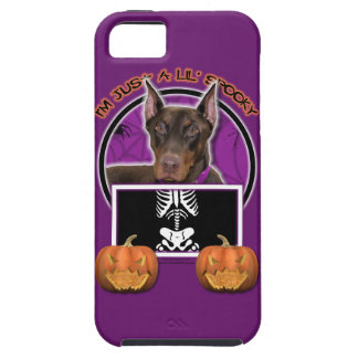Halloween - apenas un Lil fantasmagórico - Doberma iPhone 5 Cobertura