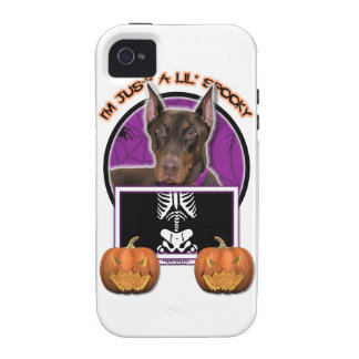 Halloween - apenas un Lil fantasmagórico - Doberma Vibe iPhone 4 Carcasa