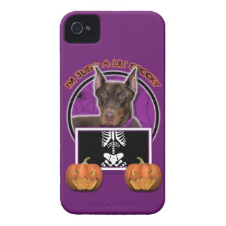 Halloween - apenas un Lil fantasmagórico - Doberma iPhone 4 Coberturas