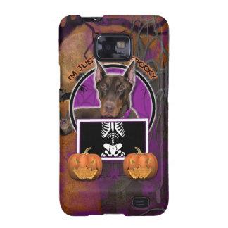 Halloween - apenas un Lil fantasmagórico - Doberma Galaxy S2 Carcasa