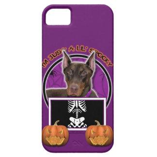 Halloween - apenas un Lil fantasmagórico - Doberma iPhone 5 Protector