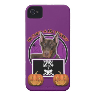 Halloween - apenas un Lil fantasmagórico - Doberma iPhone 4 Cobertura