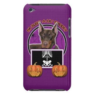 Halloween - apenas un Lil fantasmagórico - Doberma Barely There iPod Funda