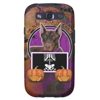 Halloween - apenas un Lil fantasmagórico - Doberma Galaxy SIII Protectores