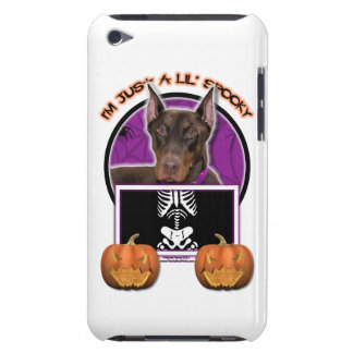 Halloween - apenas un Lil fantasmagórico - Doberma iPod Case-Mate Funda