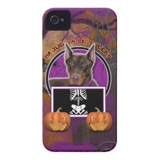 Halloween - apenas un Lil fantasmagórico - Doberma Case-Mate iPhone 4 Protector