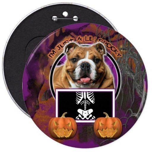 Halloween - apenas un Lil fantasmagórico - dogo Pins