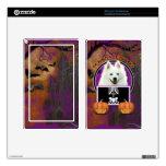 Halloween - apenas un Lil fantasmagórico - esquima Kindle Fire Pegatina Skin