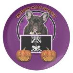 Halloween - apenas un Lil fantasmagórico - Frenchi Platos Para Fiestas