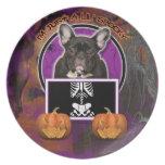Halloween - apenas un Lil fantasmagórico - Frenchi Plato De Cena
